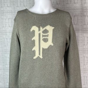 Polo Ralph Lauren men's Cable Knit Sweater Small